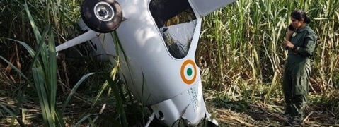 IAF aircraft crashlands in Baghpat; Both pilots safe