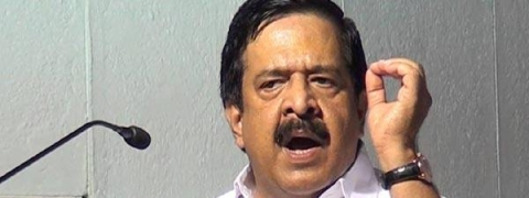 Chennithala takes up brewery issue with Governor; says CPIM leader's son behind