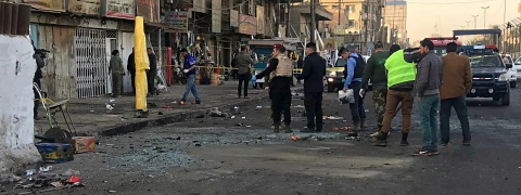 Bomb blast in north Baghdad, two wounded