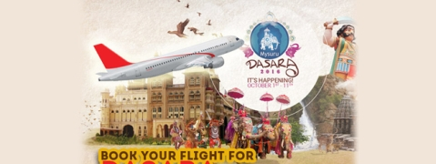 Dasara: Special flights by KSTDC to Mysore