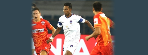 FC Pune City hold Delhi Dynamos in a close contest