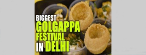 Delhi's biggest Golgappa Festival at Select Citywalk