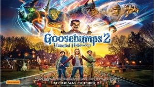&flix makes October spookier with premiere of 'Goosebumps 2: Haunted Halloween'