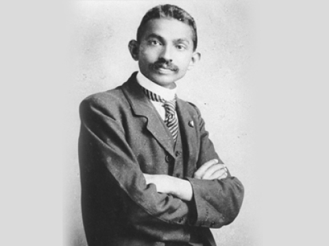 Gandhiji's interesting transformations