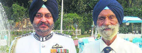 IAF chief's date with Ustaad