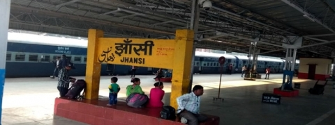 Fire at Jhansi railway station, VIP lounge reduced to ashes