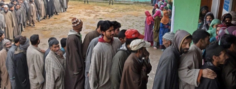Kashmir ULB polls: Very low voter turnout