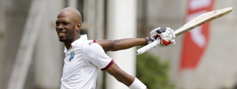 Roston Chase's ton puts West Indies at 311