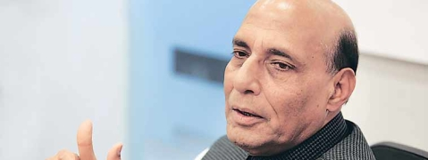 No compromise with Maoists and terror outfits : Rajnath