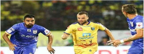 Mumbai City FC holds Kerala Blasters for 1-1