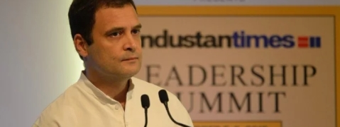 A single, suffocating ideology imposed uponIndians: Rahul