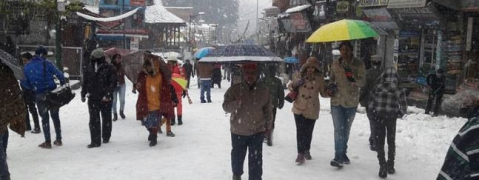 Himachal snow brings in cold spell