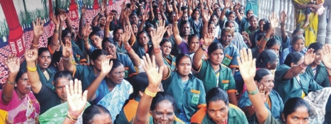 Pourakarmikas launch indefinite agitation