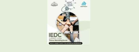 Aspiring entrepreneurs set to congregate under one roof for IEDC summit on Nov 3