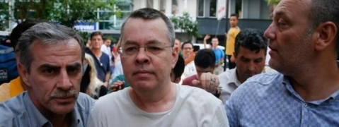Turkish court orders release of US pastor Brunson