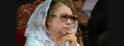 Ex-PM Khaleda Zia can not use left hand: Physician