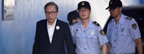Jail for S. Korean ex-President