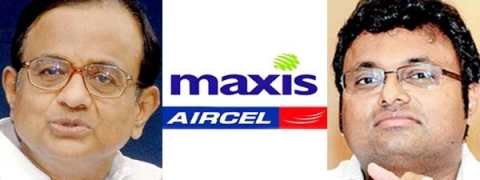 Aircel Maxis case: PC, son get a breather