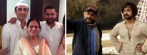 Aamir Khan turns 'Thug' with his mother's help