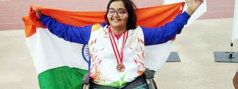 Asian Para Games: Ekta & Manish win gold in their respective events