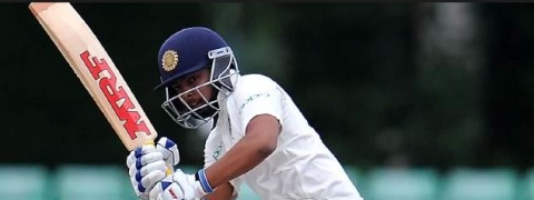 Prithvi Shaw, Pujara take lead; India 133/1 at lunch