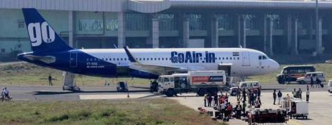 GoAir flight flies without passengers' baggage