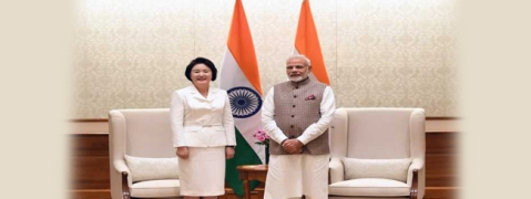 PM meets Korean First Lady