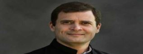 Rahul Gandhi greets people on Diwali