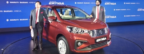 Maruti Suzuki launches Ertiga; starting price Rs 7.44 lakh