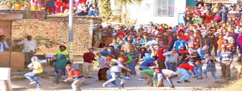 In Himachal village, Diwali is followed by stone pelting