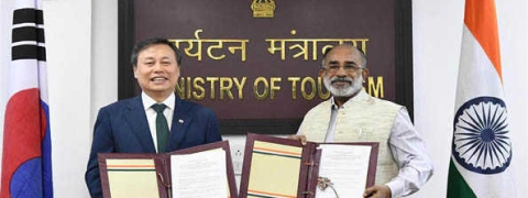 India & Republic of Korea sign MoU for strengthening cooperation in Tourism