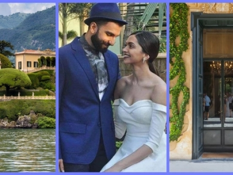 Deepveer's Italian wedding at Lake Como