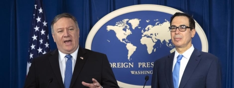 US vows 'relentless' pressure on Iran