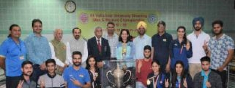 Panjab University claims overall trophy in Inter-Varsity championship
