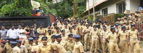 Prohibitory orders at Nilakkal, Pamba and Sannidhanam from today