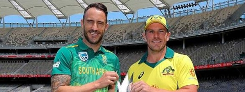 Australian batting collapse against South Africa in the first ODI
