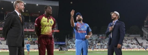 India win toss and opted to bowl vs West Indies in first T20I at Eden Gardens