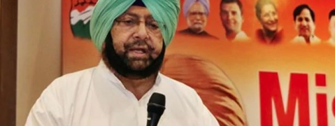 Punjab CM urges Sushma to take up Kartarpur sahib corridor issue