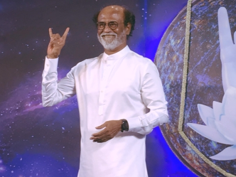 Rajinikanth leans to BJP?
