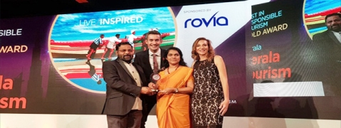 Kerala Tourism wins gold at World Travel Mart in London
