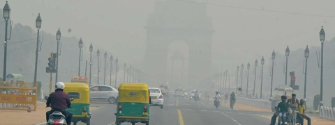 Delhi records worst pollution, Air Quality Index at 574