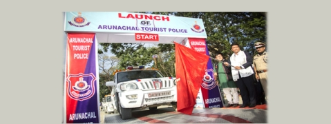 Arunachal CM launches 'Tourist Police'