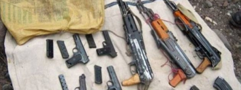 Militant hideout busted in J&K: arms, ammunition recovered