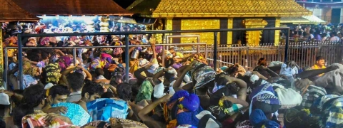Police sound alert as TN outfit plans sending 40 women to Sabarimala