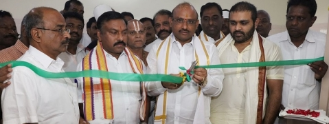TTD Chairman inaugurates New Anna Prasadam building
