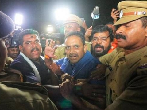 HC rejects BJP leader Surendran plea to visit Sabarimala