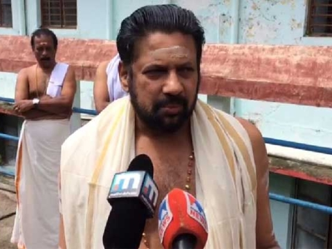 Ayyappa's blessings brought positive verdict: Tantri