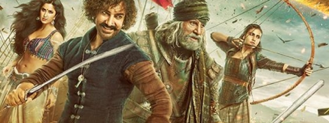 Thugs of Hindostan collects over 50 cr on Day 1