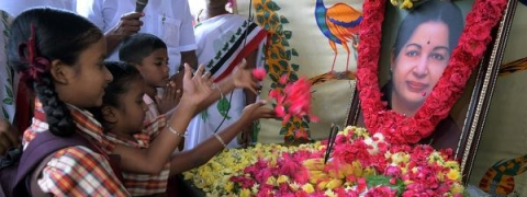 Floral tributes paid to Jaya on her second death anniversary