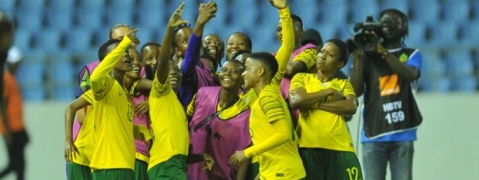 S African female soccer players rewarded for qualifying for the World Cup